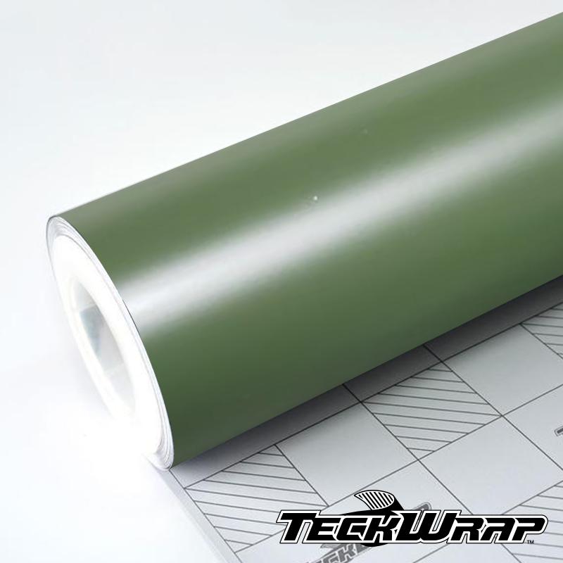 Teckwrap - Military Green Matte - CM09