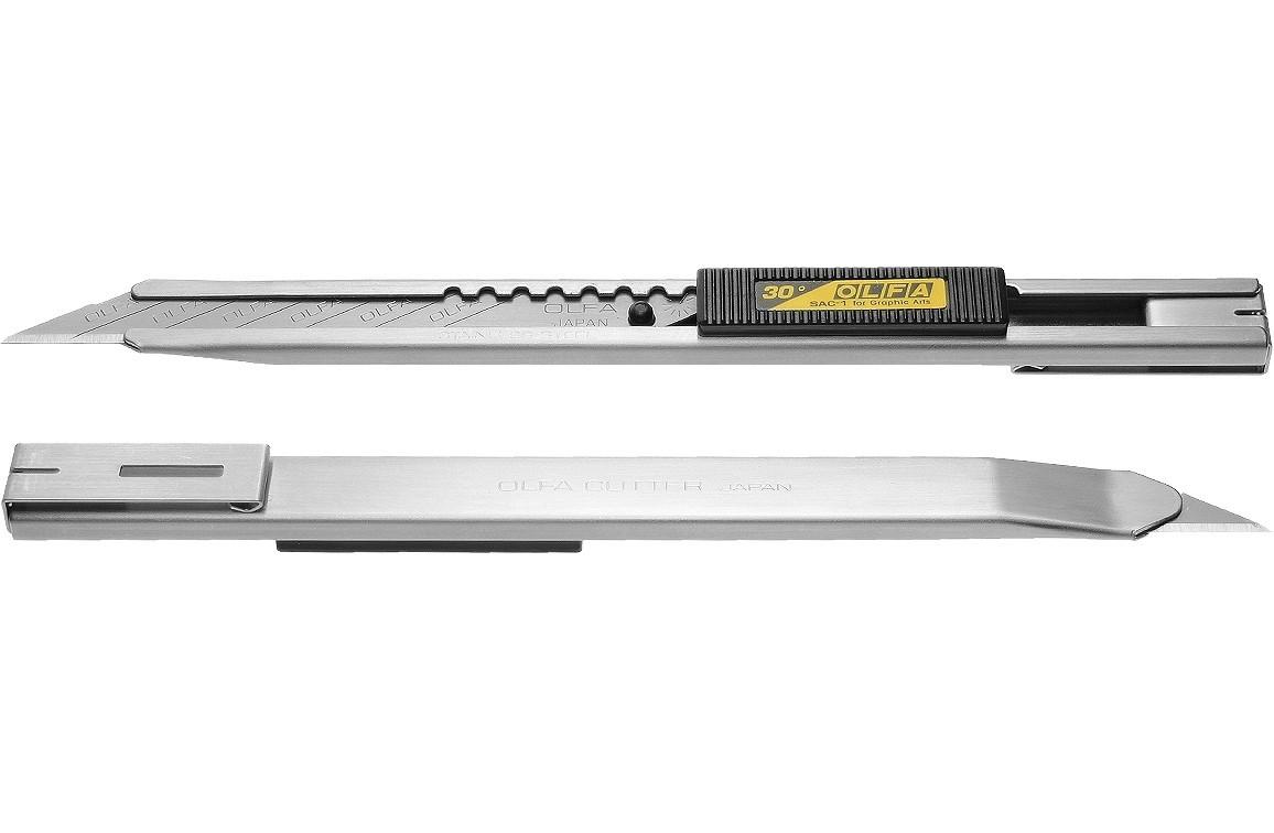 Estilete Metálico SAC -1  9mm - Olfa