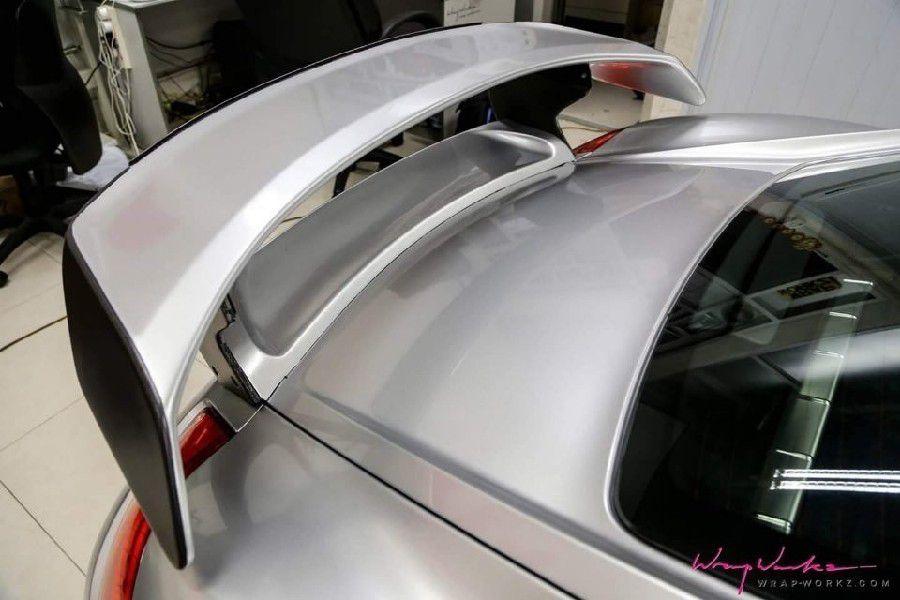 GAL11 Gloss Aluminium Silver Mist - Escolha entre metro linear ou rolo fechado