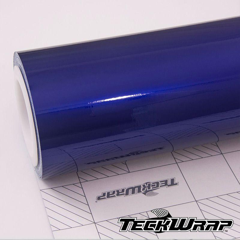 Teckwrap - GAL19 Gloss Aluminium Royal Blue - Metro linear ou rolo fechado