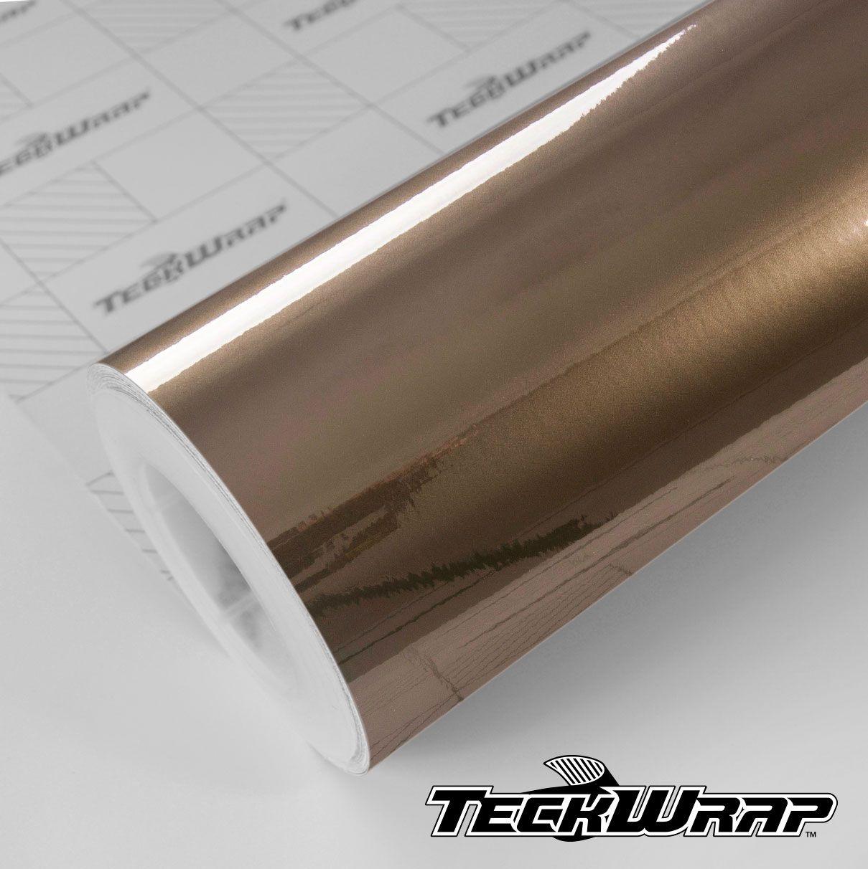 GAL21 Gloss Aluminium Dark Gold Olive - Escolha entre metro linear ou rolo fechado