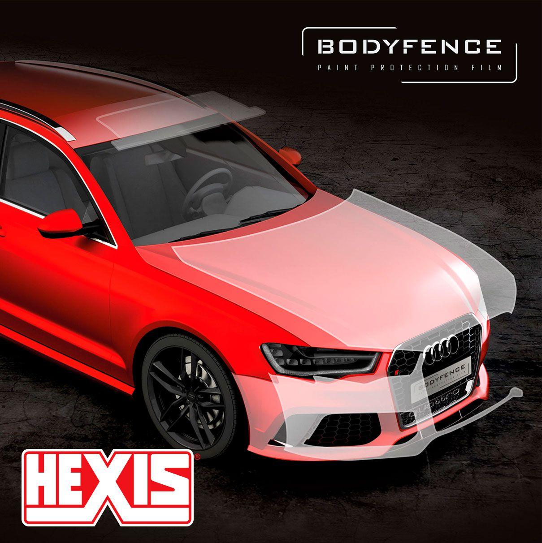 Hexis - Bodyfence Gloss Largura 76cm - Escolha entre metro linear e rolo fechado