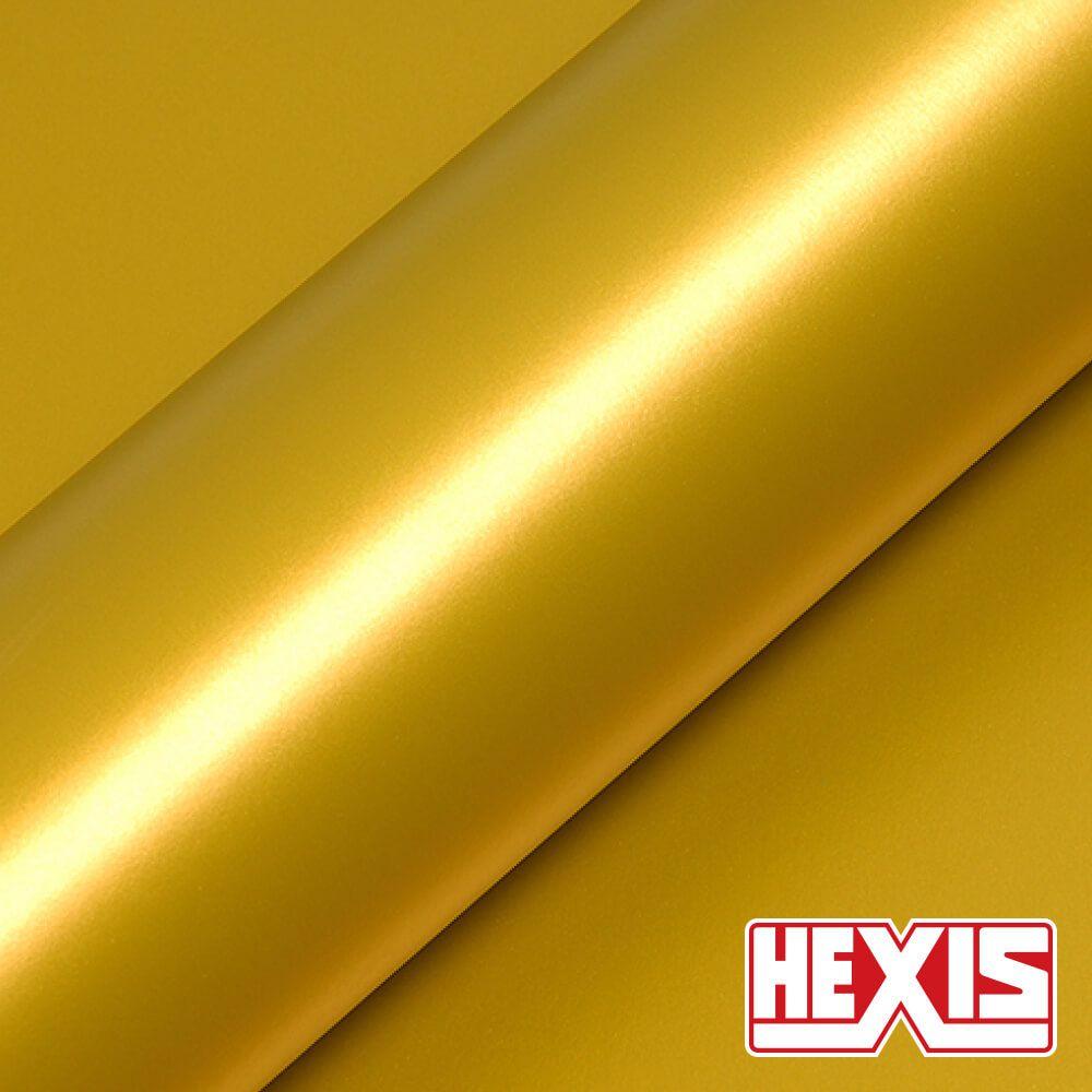 HX30JIMM Imperial Yellow Matt - Escolha entre metro linear ou rolo fechado
