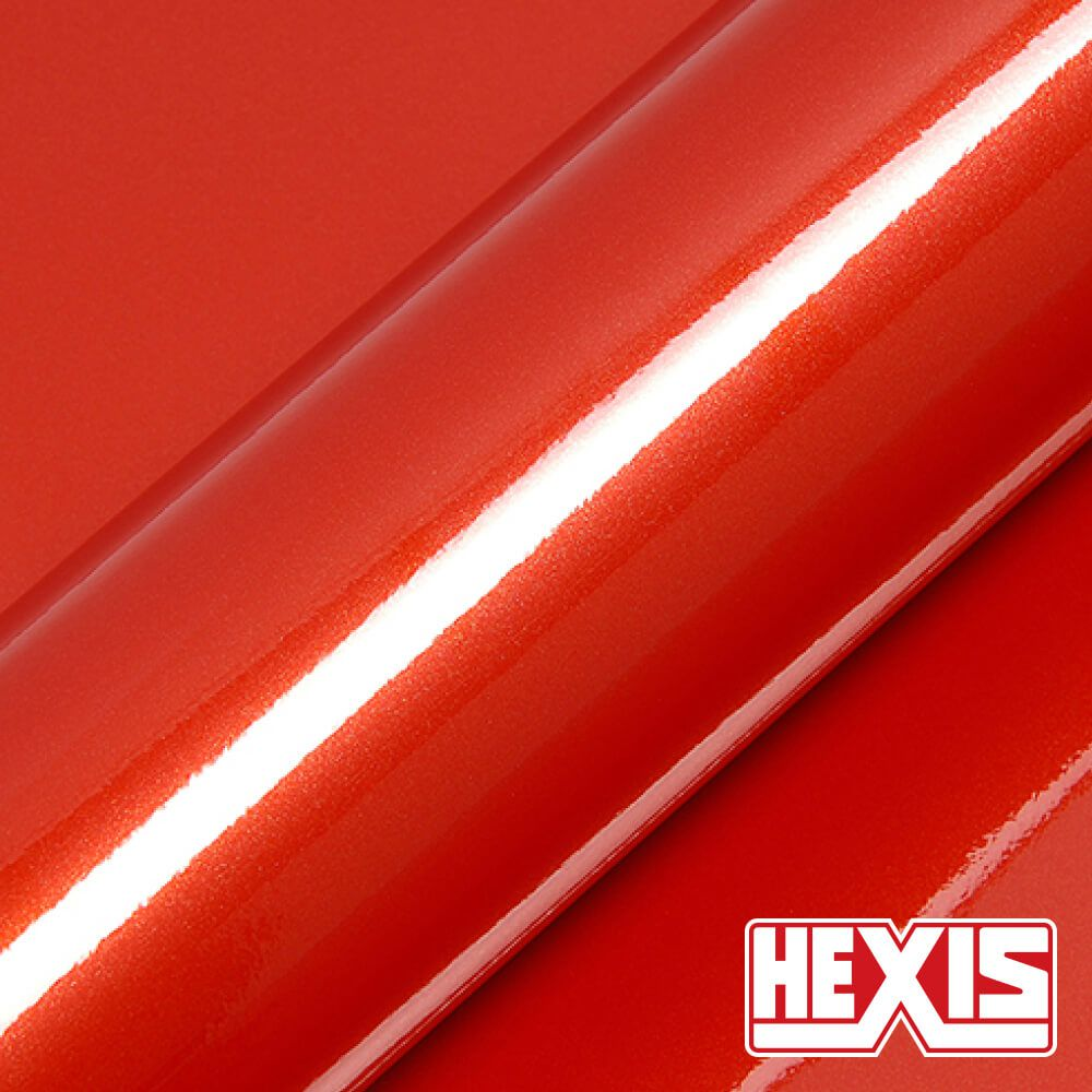 HX30OPAB Papaya Orange Gloss - Escolha entre metro linear ou rolo fechado