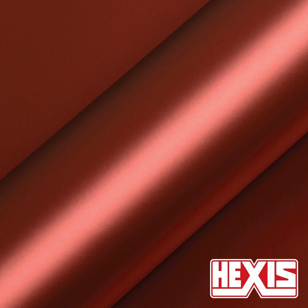 HX20196S Red Aluminium Satin - Escolha entre metro linear ou rolo fechado