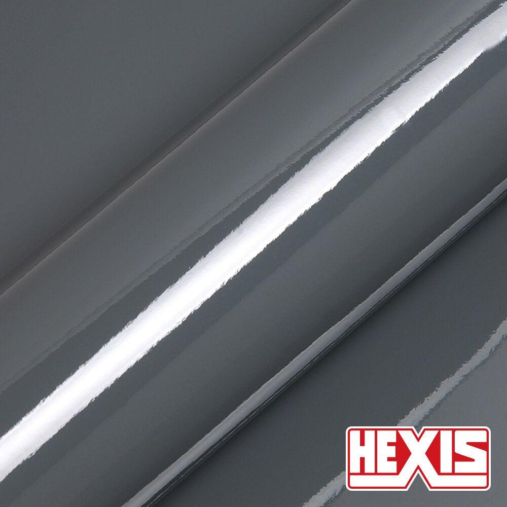 HX20445B Dark Grey Gloss - Escolha entre metro linear ou rolo fechado