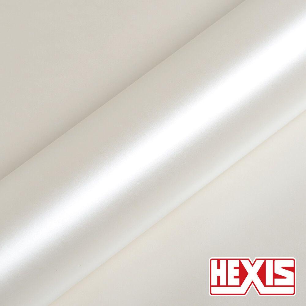 HX20BNCS Pearl White Satin - Escolha entre metro linear ou rolo fechado