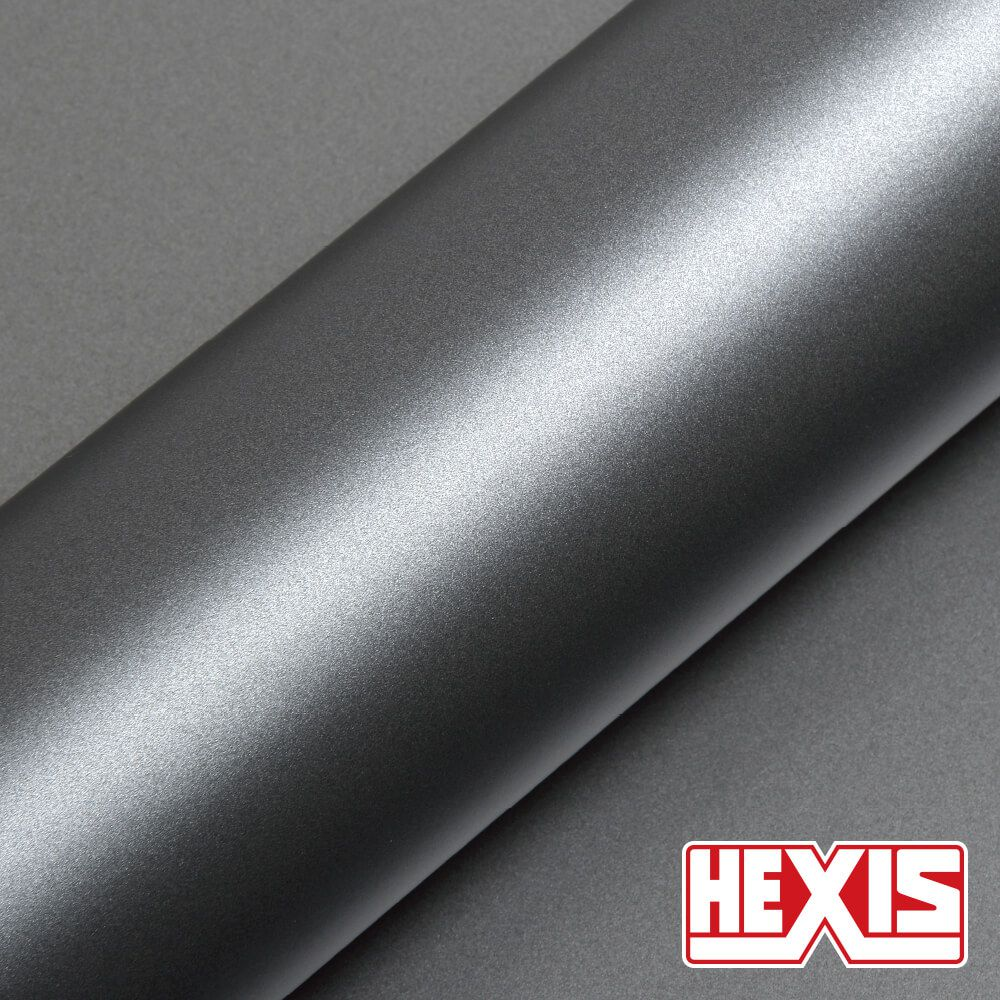 HX20G03S Grey Metallic Satin - Escolha entre metro linear ou rolo fechado