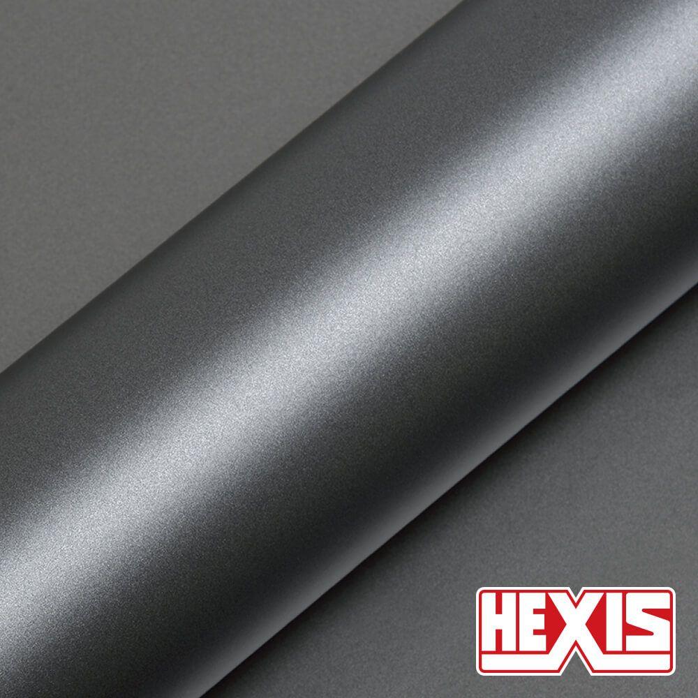 HX20G04S Argentic Grey Satin - Escolha entre metro linear ou rolo fechado
