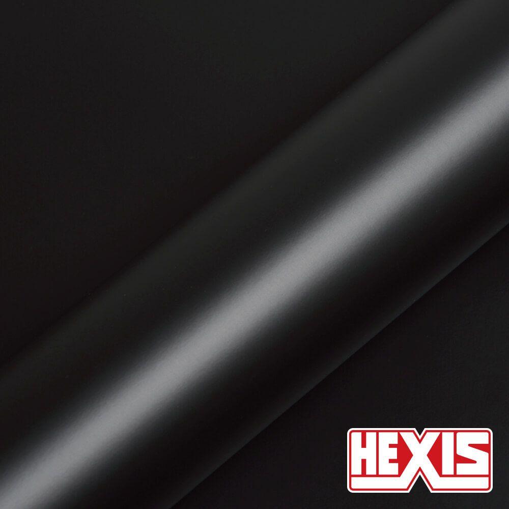 HX20NPRS Deep Black Satin - Escolha entre metro linear ou rolo fechado