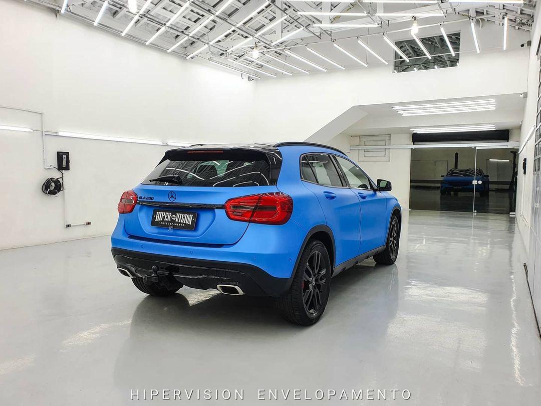 HEXIS - Ara Blue Mettalic Satin - HX20219S