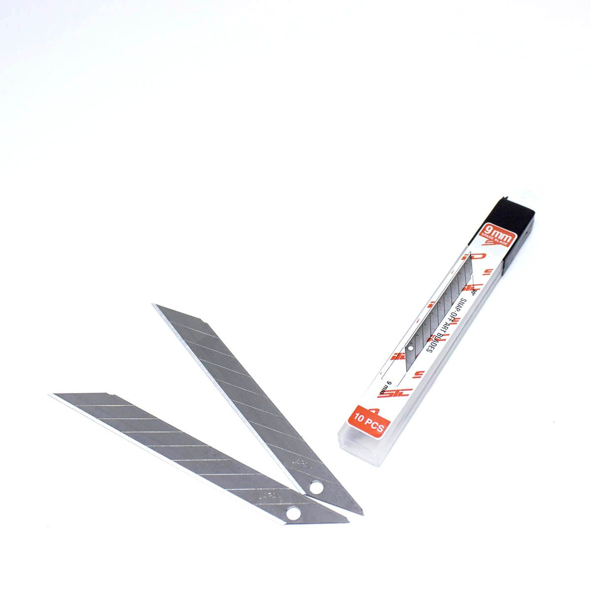 Kit de 10 lâminas de estilete 9mm 30 graus SID