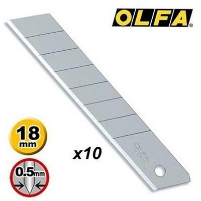 Kit de 10 Lâminas LB-10B 18mm - Olfa