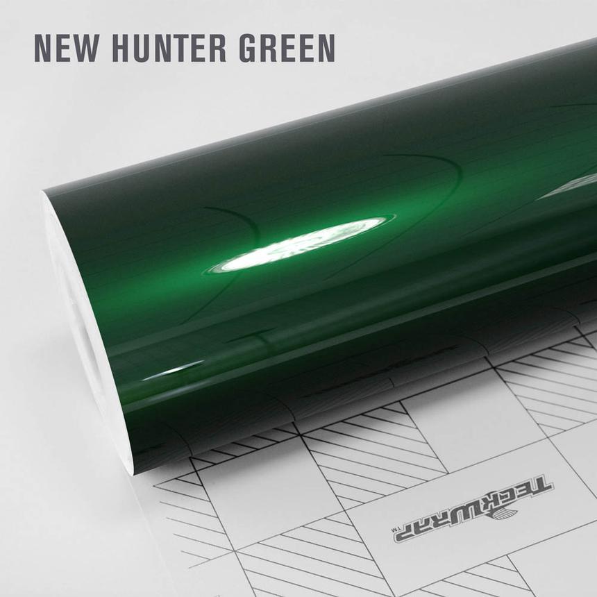 NOVO! Teckwrap Hunter Green Gloss Aluminium  - GAL29 - S