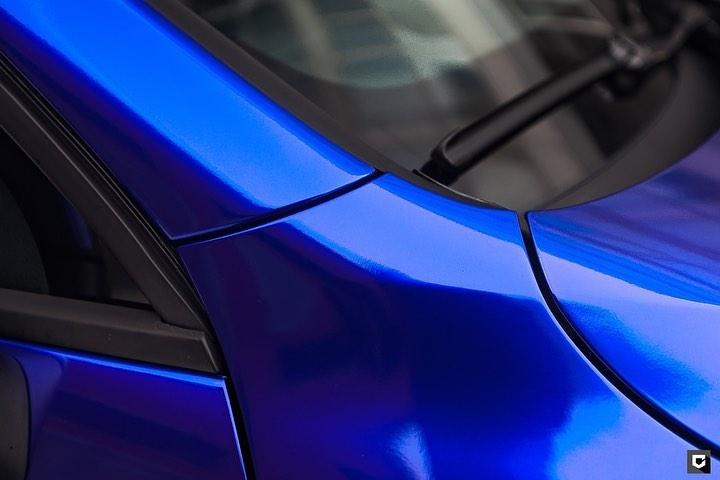 NOVO! Teckwrap - Royal Blue - Gloss Aluminium - GAL19 - S