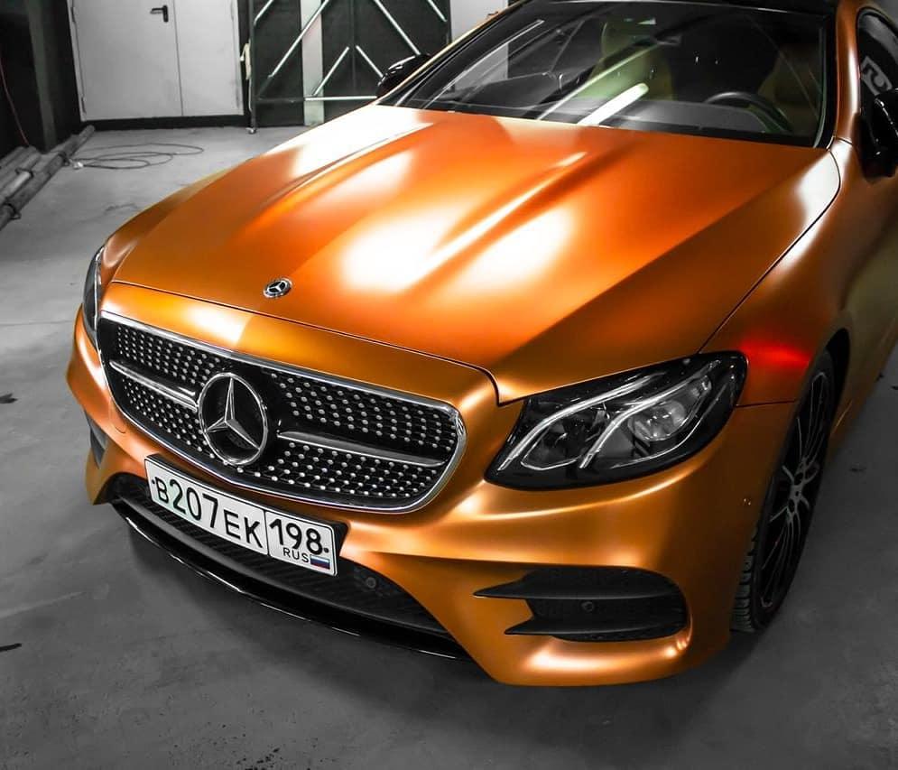NOVO! - Teckwrap - Wild Orange Satin Chrome - VCH406-S