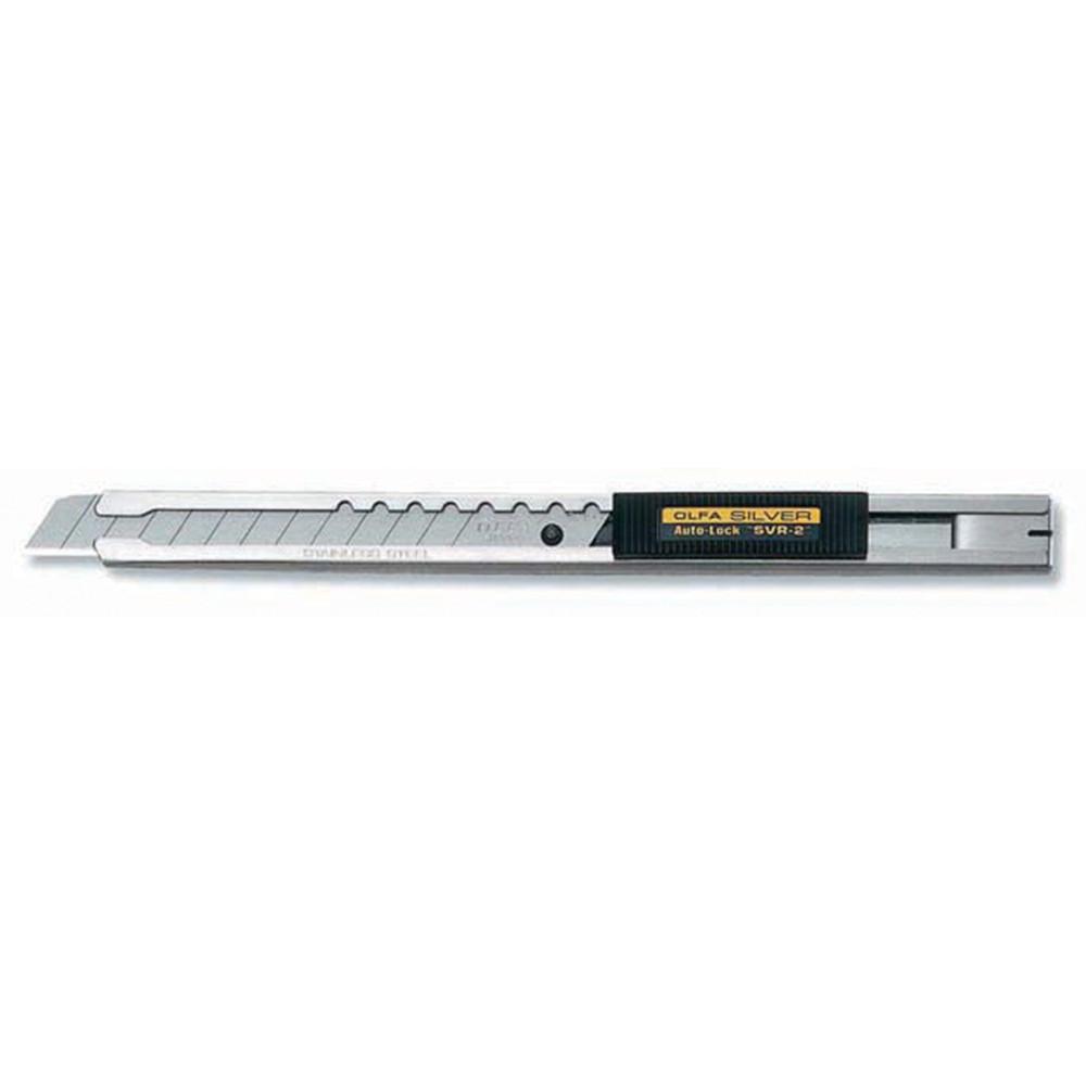 Estilete em aço inoxidável SVR-2 9mm - Olfa