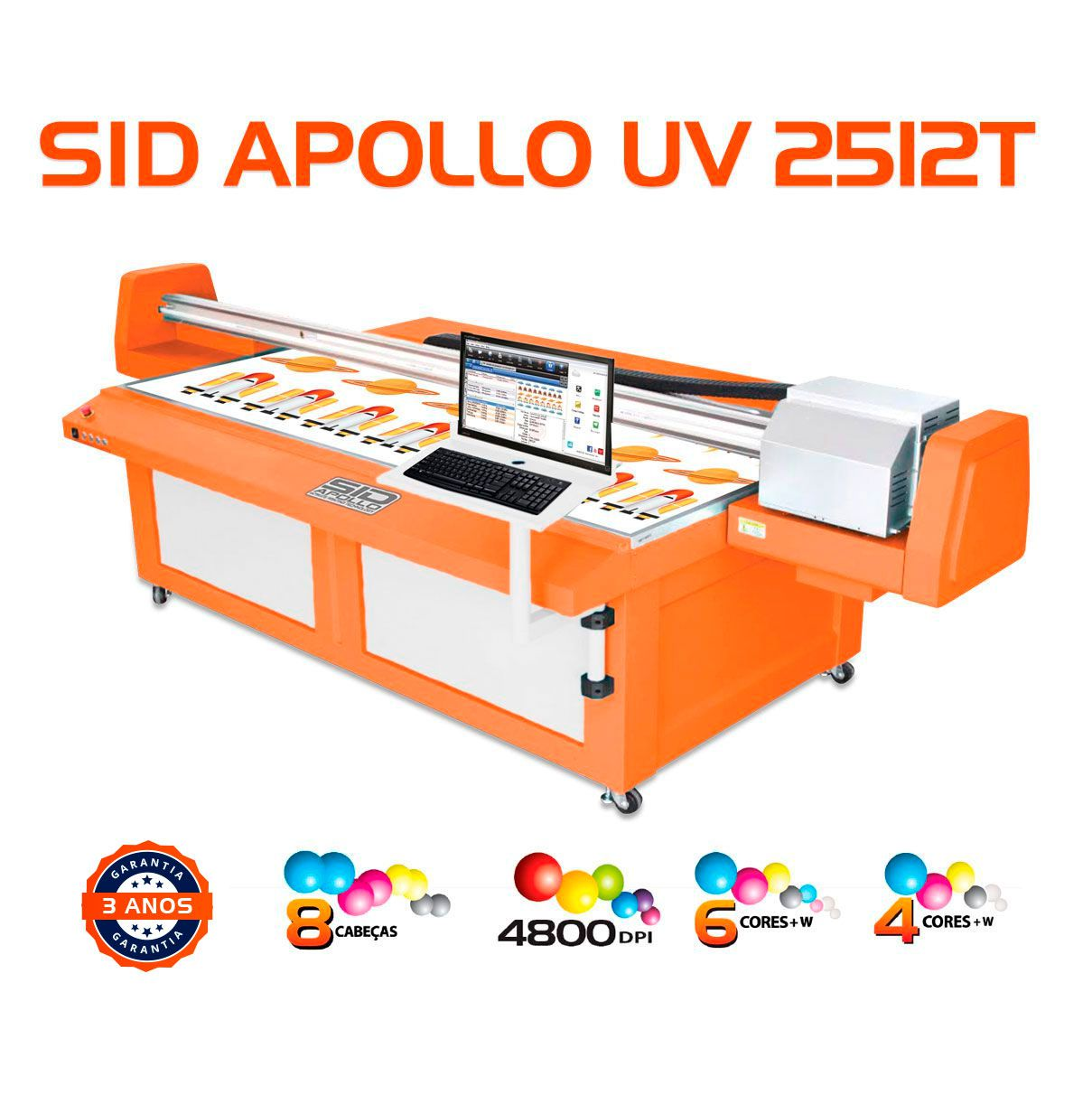 SID Apollo UV 2512T