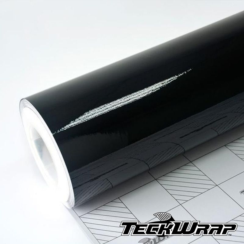 CG01 Gloss Black Piano - Escolha entre metro linear ou rolo fechado