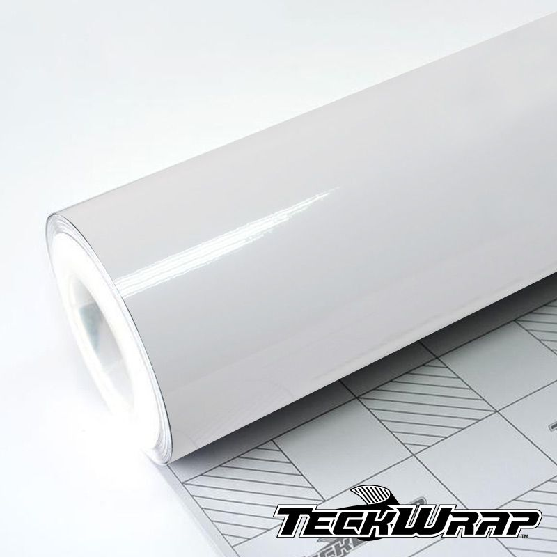 Teckwrap - CG02 Gloss White - Metro linear ou rolo fechado
