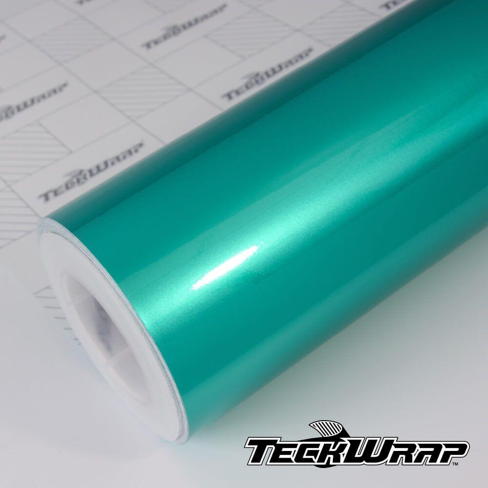GAL05 Gloss Aluminium Mermaid Green - Escolha entre metro linear ou rolo fechado