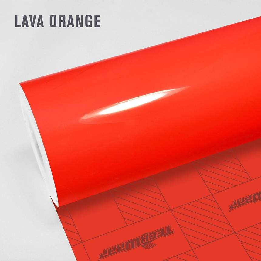 Teckwrap - Lava Orange - CG24 HD