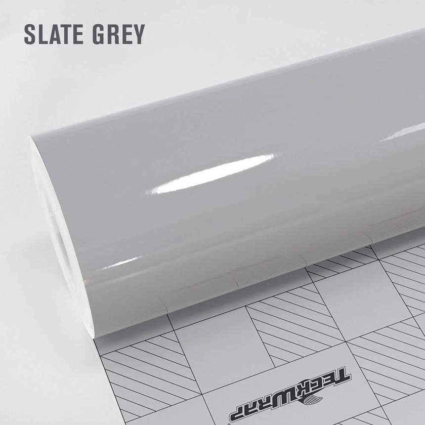 Teckwrap - Slate Gray Gloss HD - CG16-HD
