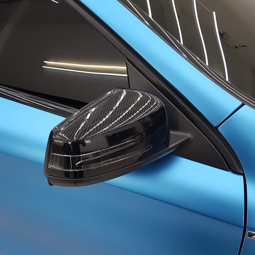 VCH313 Matte Chrome Steel Blue - Escolha entre metro linear ou rolo fechado