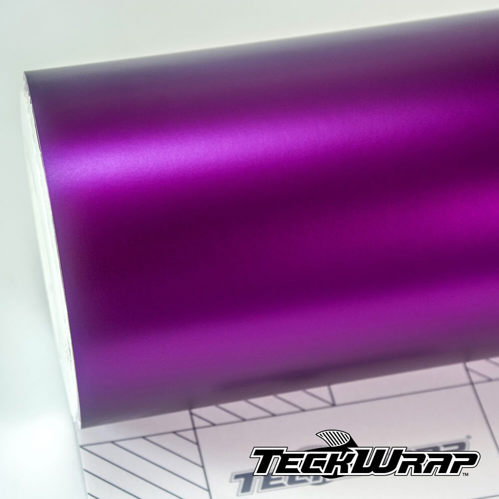 Teckwrap - Concord Grape Satin Chrome - VCH403