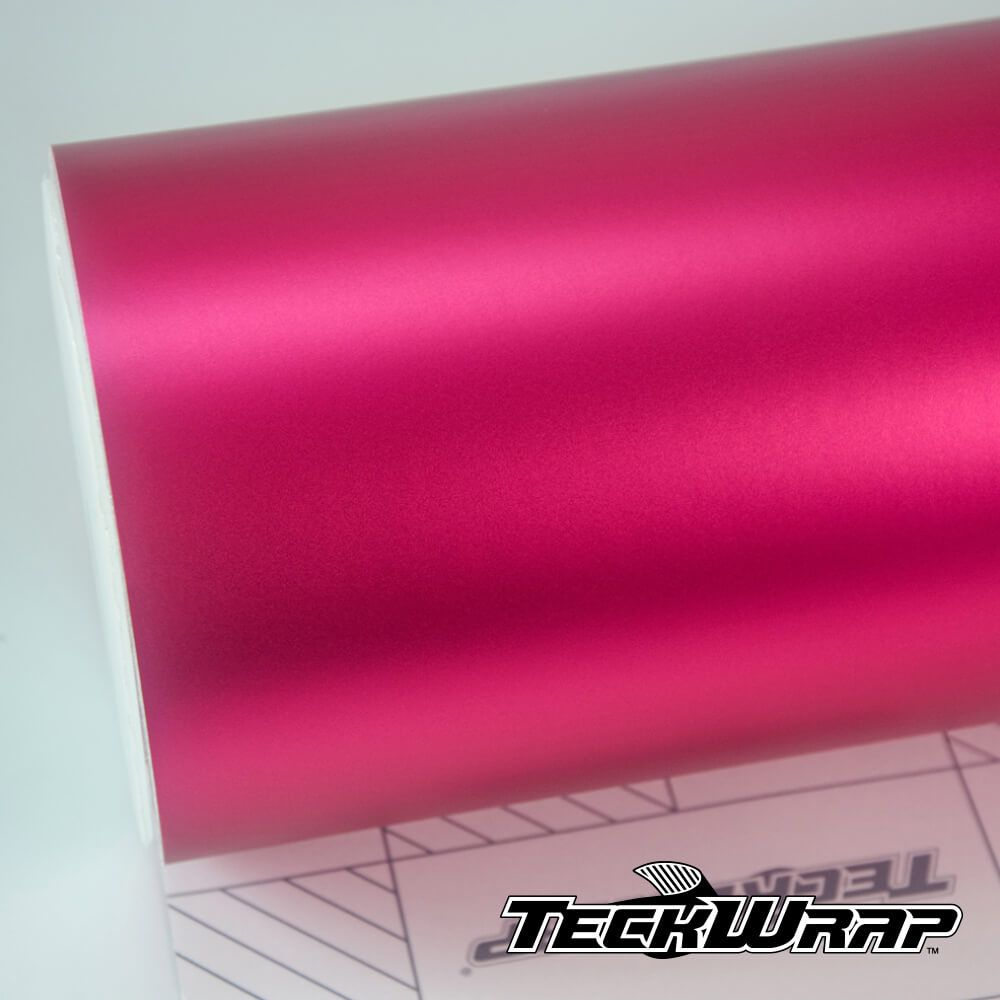 Teckwrap - Hot Pink Satin Chrome - VCH404