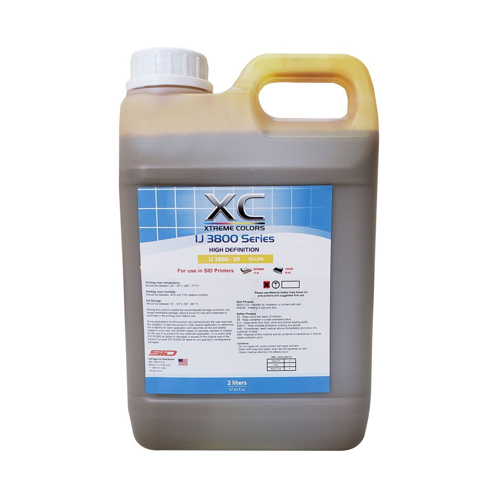 Tinta Solvente Xtreme Colors IJ 3800 - 2 Litros