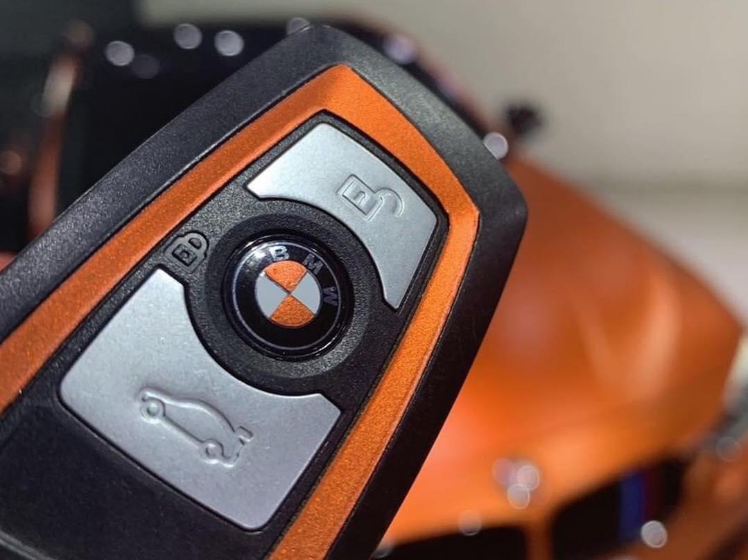 VCH306 Matte Chrome Wild Orange - Escolha entre metro linear ou rolo fechado