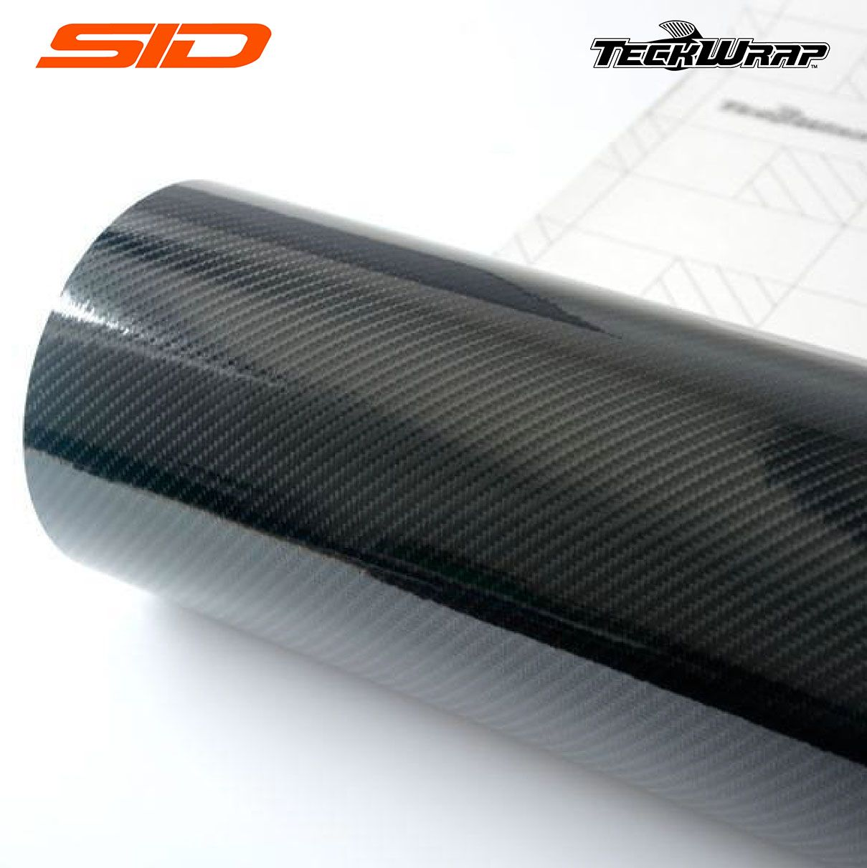 Vinil TeckWrap - Carbon Fiber 5D Metro Linear