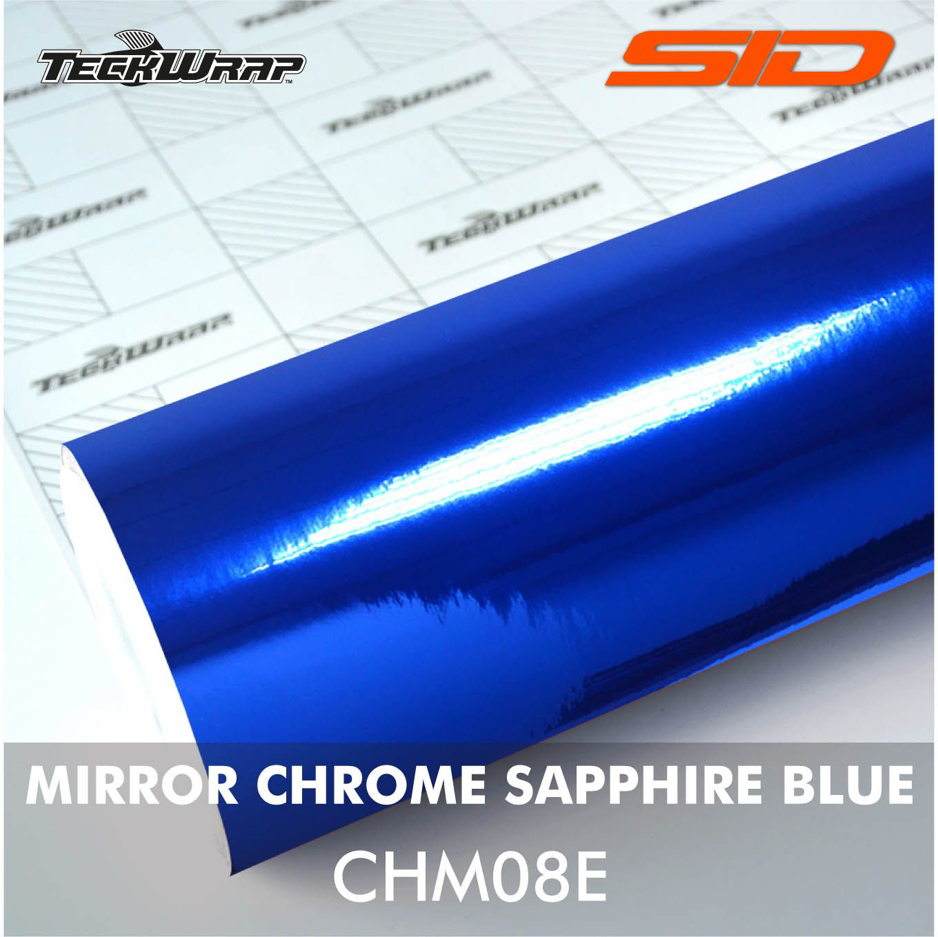 Vinil TeckWrap - Mirror Chrome - Metro Linear