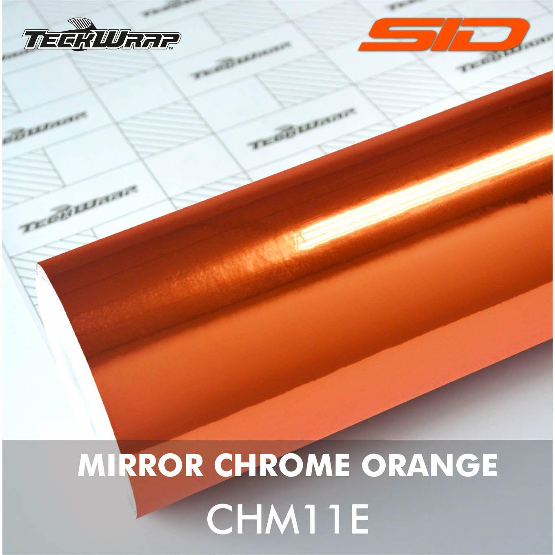 Vinil TeckWrap - Mirror Chrome Rolo Fechado