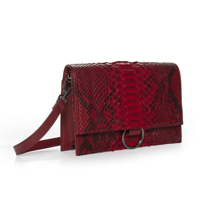 Bolsa Vick vermelha