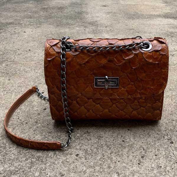 Bolsa Athenas caramelo