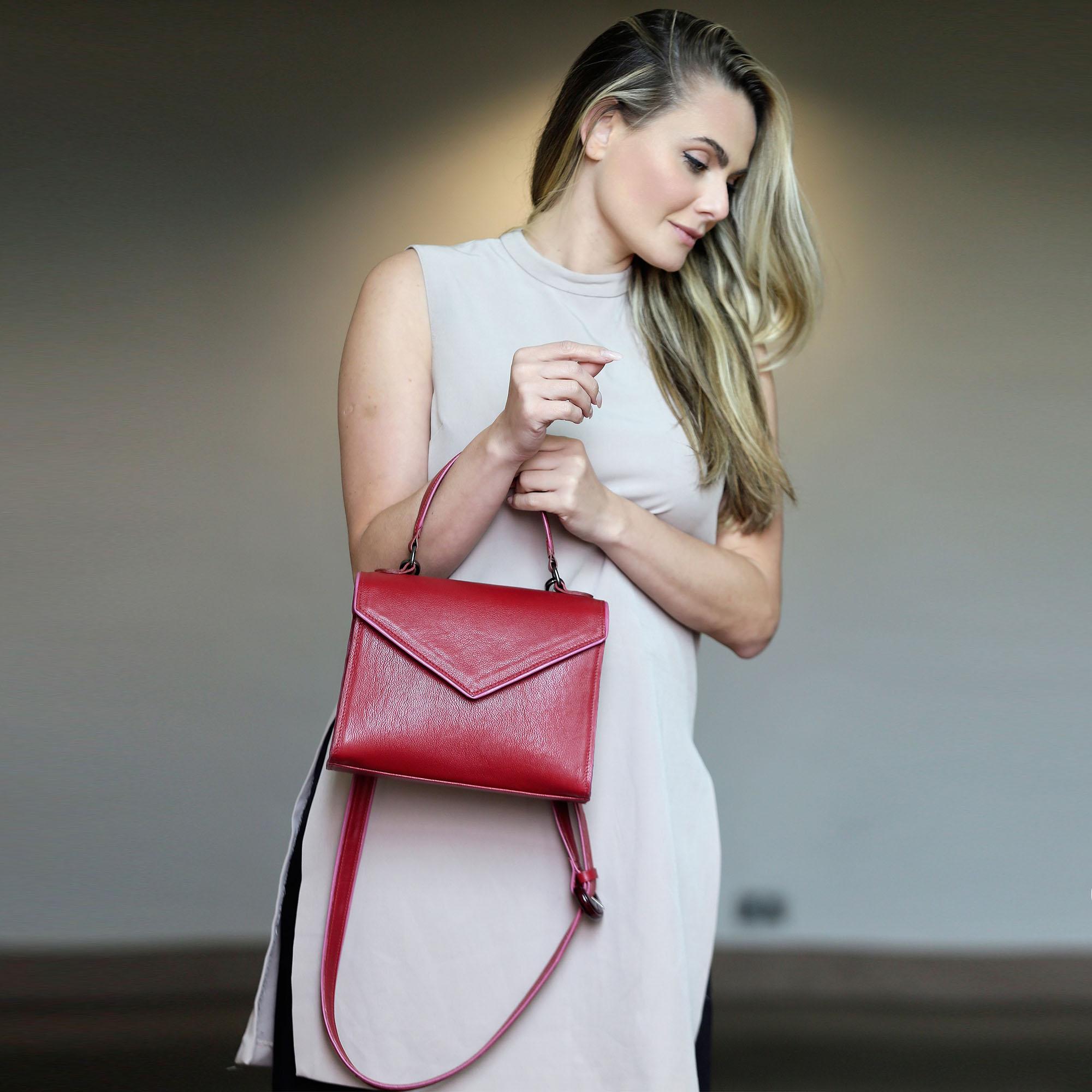 _Bolsa Cindy vermelha