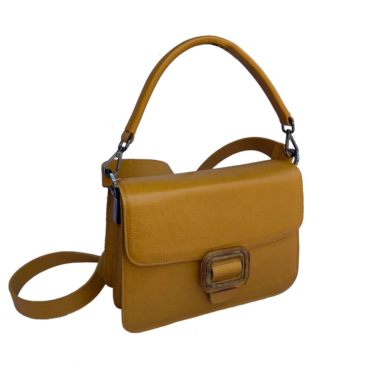 Bolsa Cora amarela