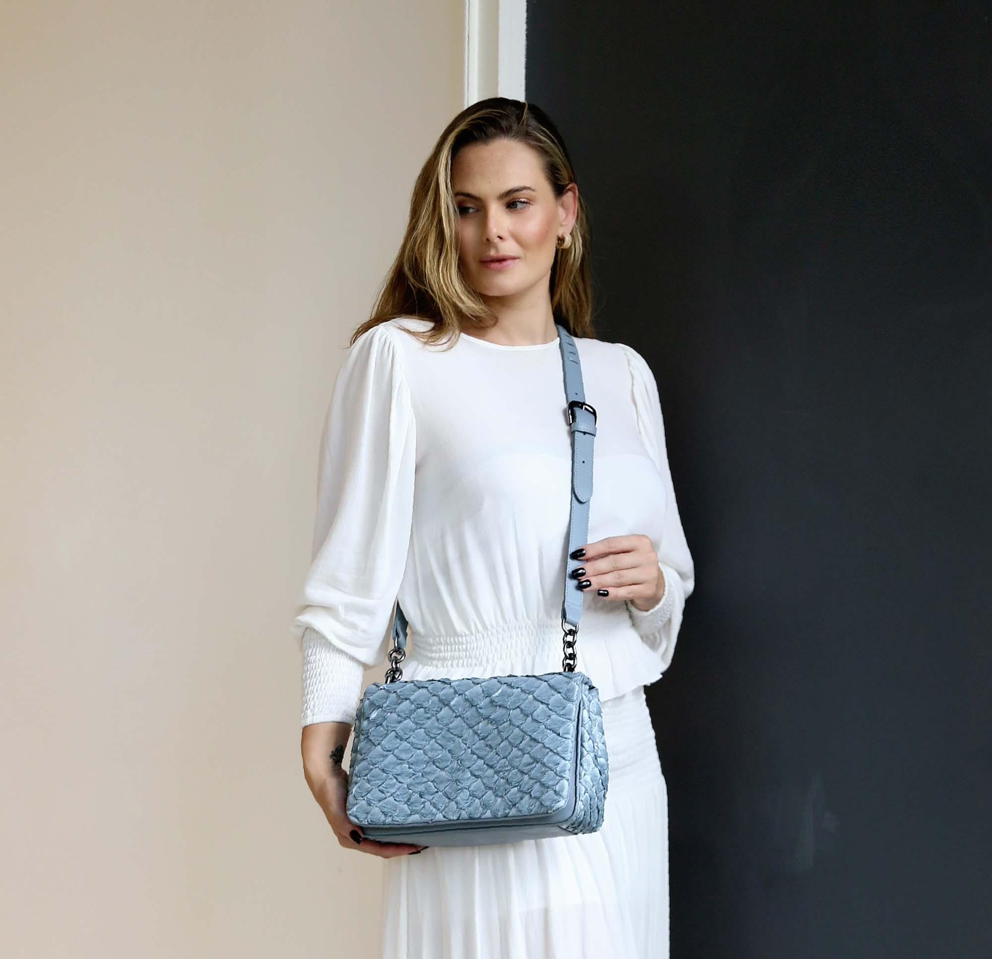 Bolsa Kate azul bb