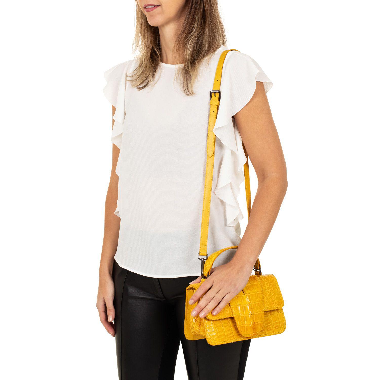 Bolsa Leila amarela
