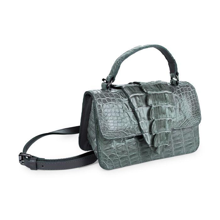 Bolsa Leila cinza