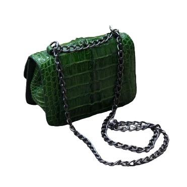 Bolsa Leila esmeralda