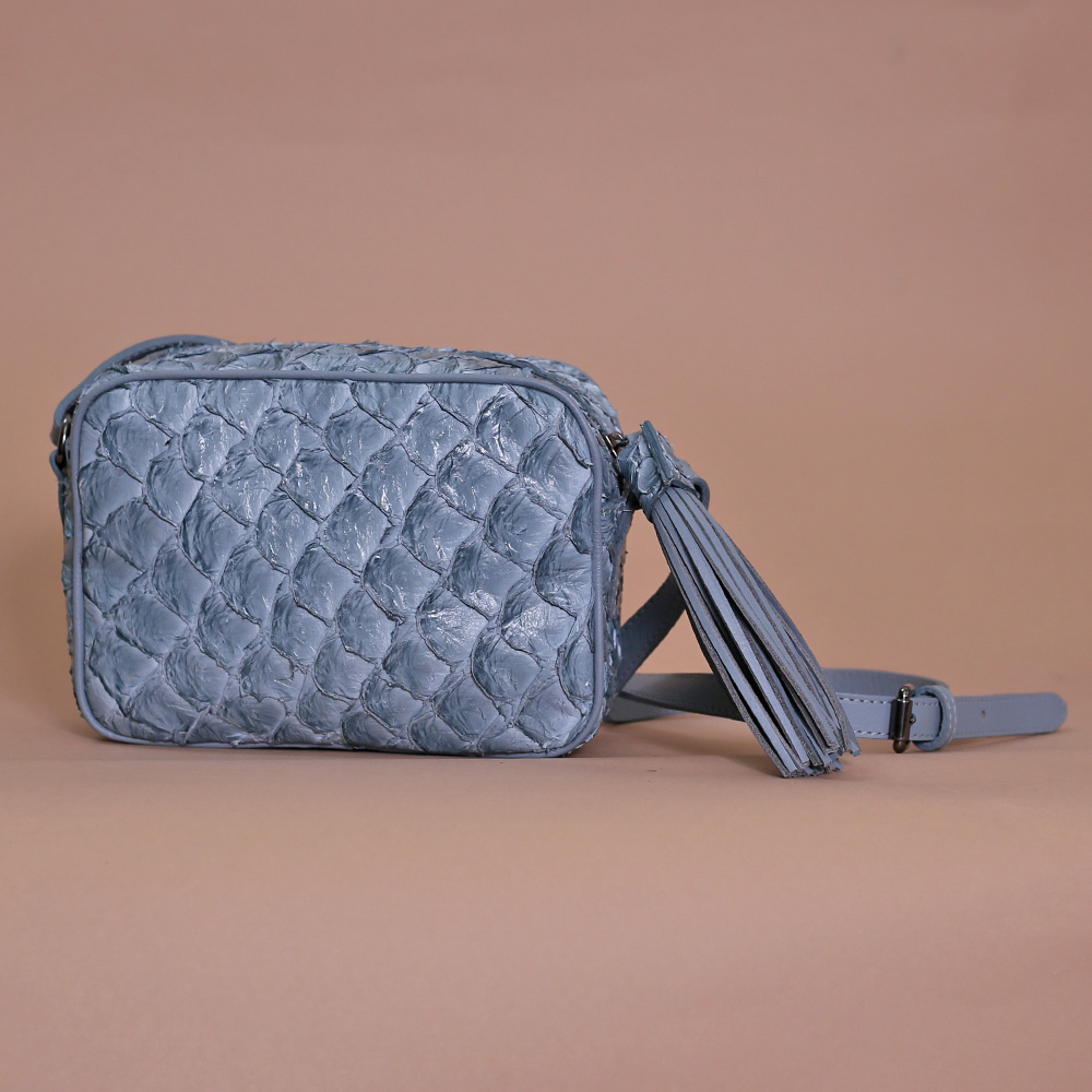 Bolsa Lourdes p azul bb