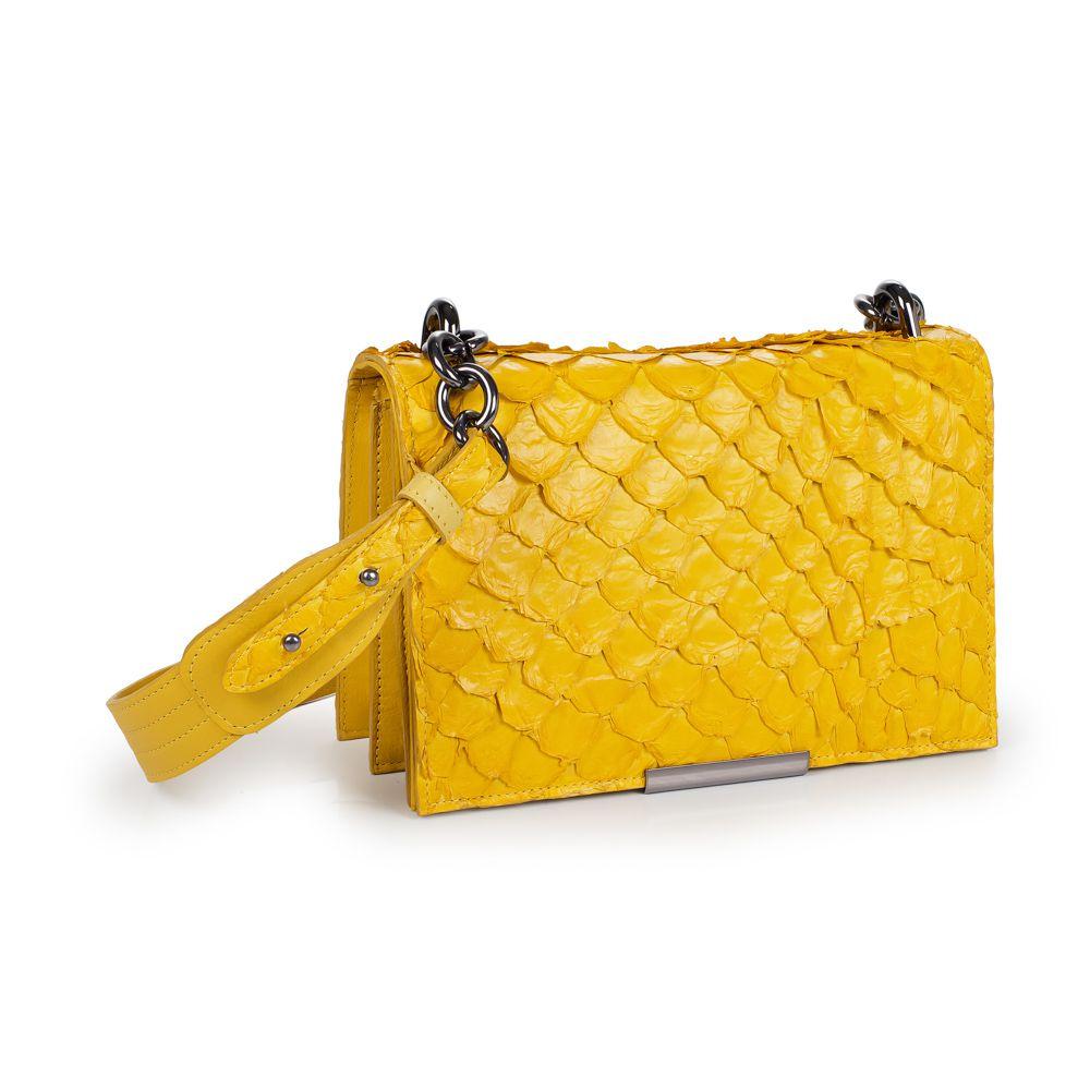 Bolsa Luara amarela