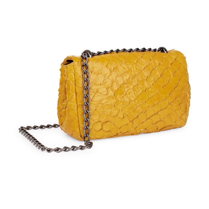 Bolsa Paula amarela