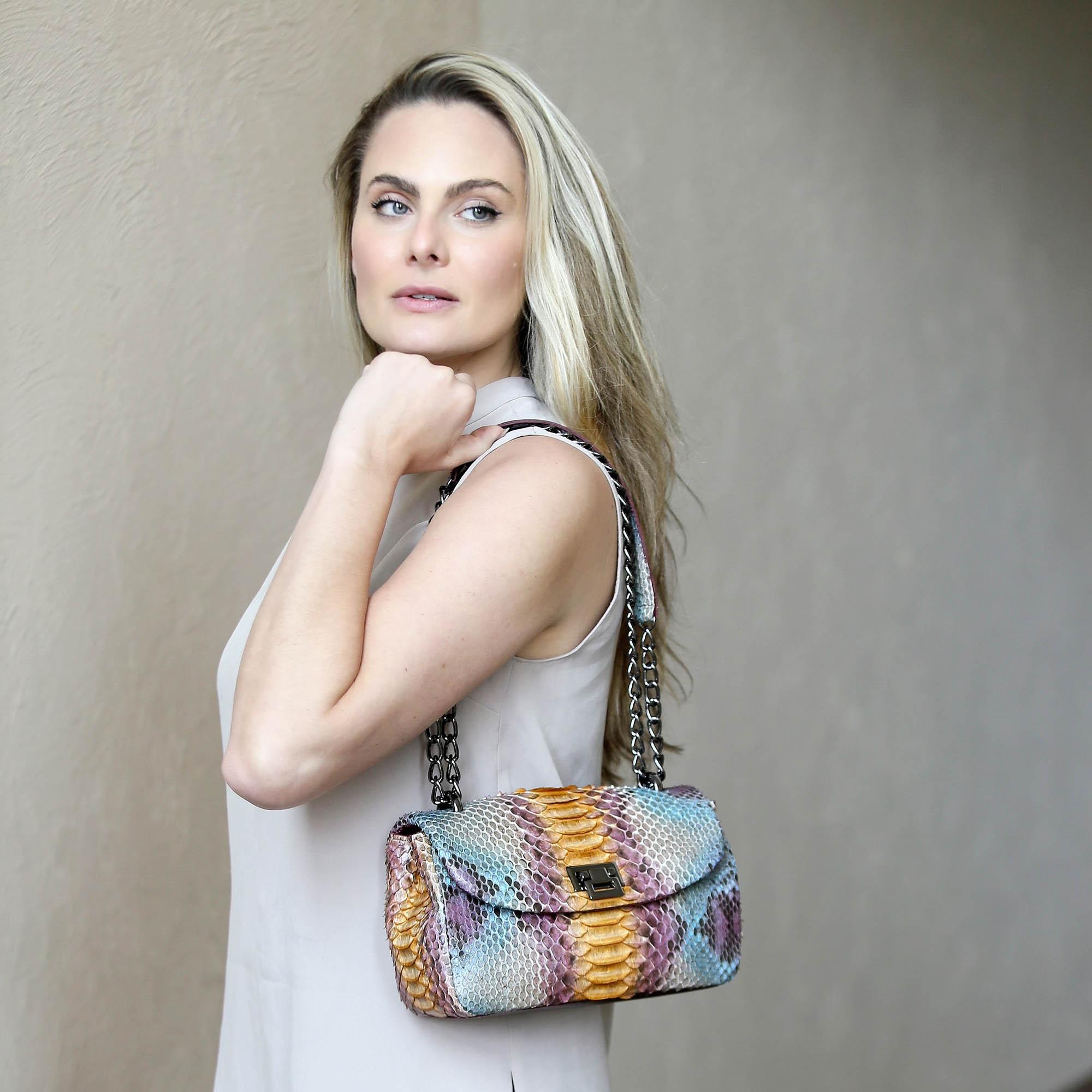 Bolsa Paula multicolor