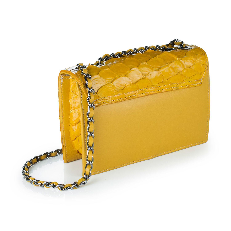 Bolsa Thais amarela