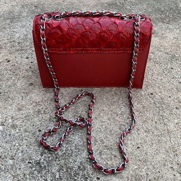 Bolsa Thais vermelha