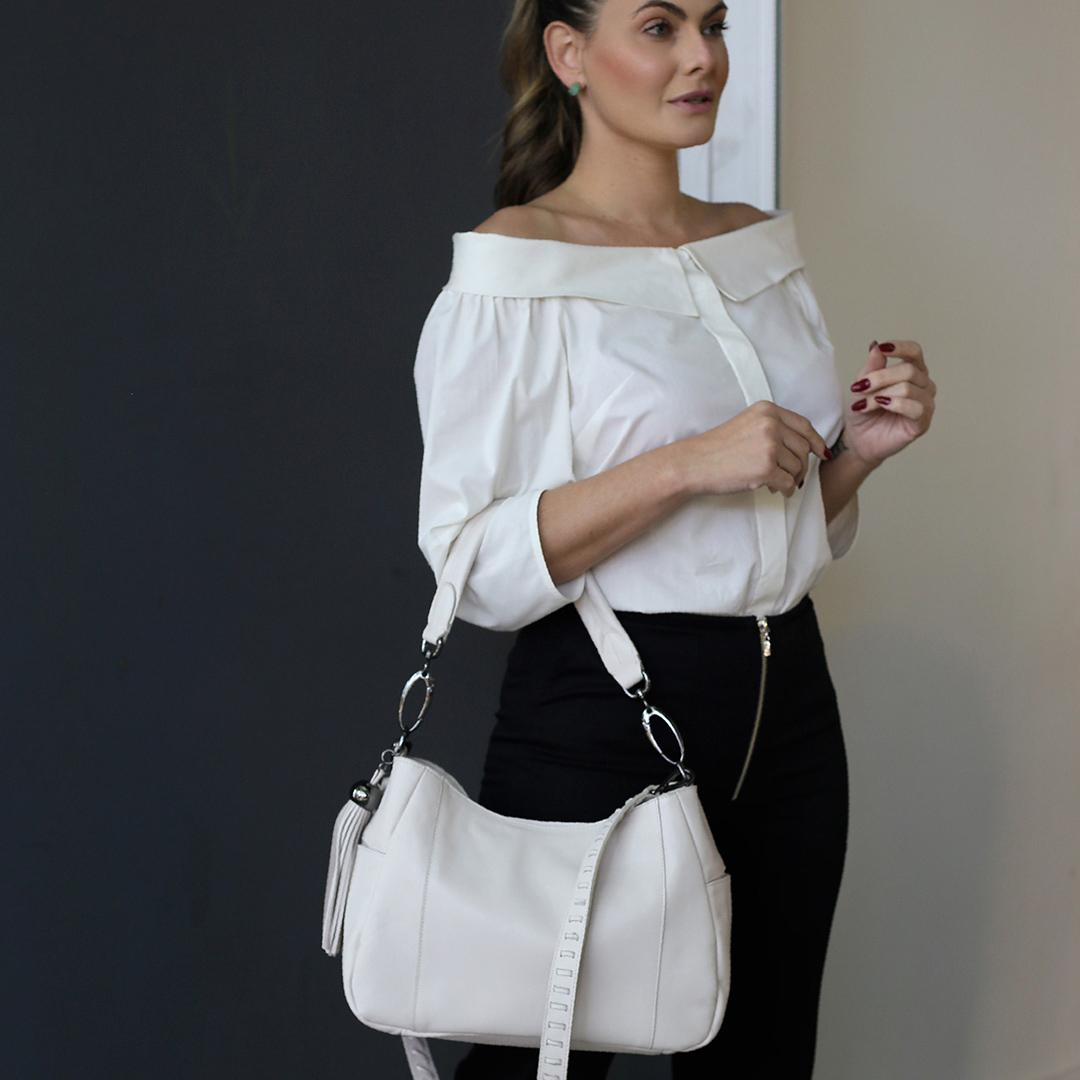 Bolsa Tina off white
